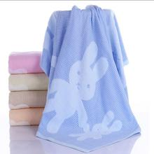 Super-soft Washed cotton swaddle blanket factory