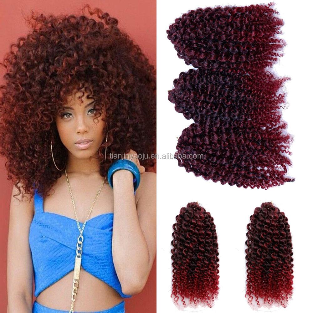 African Black Braids Mali Bob Marley Braids Hair Crochet Water Wave