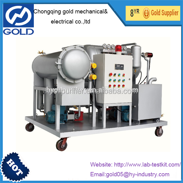DYJC-Series Online Coalescence and Vacuum Lube Oil Filtering Equipment
