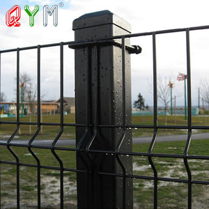 3d fencing wires mash welded v metal wire mesh fencing