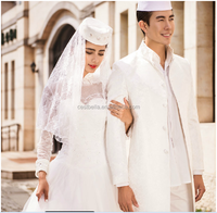 2016 Latest Men Suits For Muslim And Islamic Wedding
