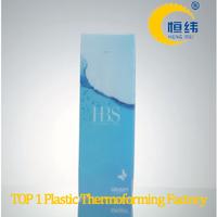Custom Printing PVC plastic folding box for cosmetic packaging