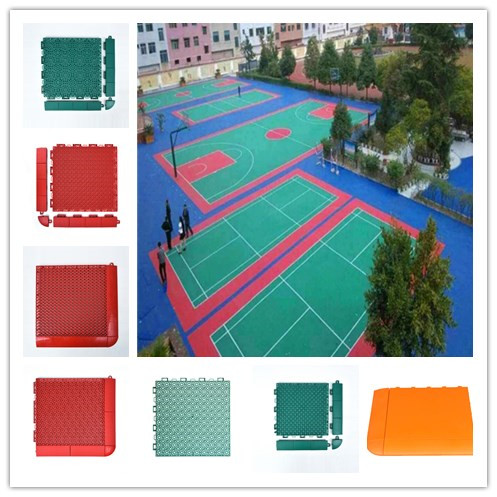 Pp interlock cost to build basketball court buy cost to for How to build basketball court