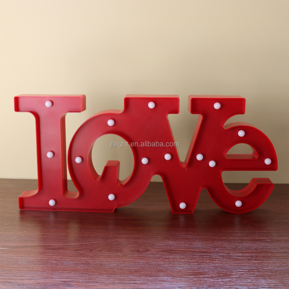 Wedding Decorations LED Marquee Sign LOVE - LED Light up LOVE Letters and Illuminated Wedding