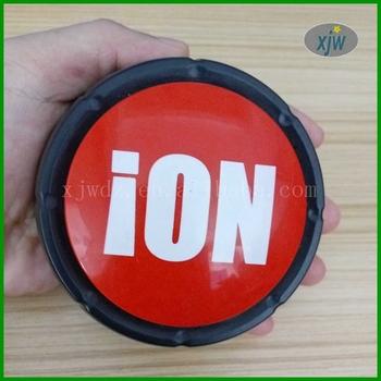 Customized Plastic Big Buzzer Sound Button/ Talking Box /message Box  Promotion Gift - Buy Plastic Big Buzzer,Talking Box,Message Box Product on