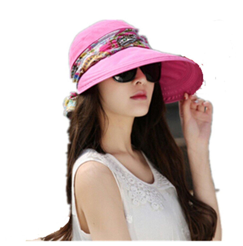 41d7e191a10 Get Quotations · Cinlla® Summer Sun Beach Hat UV Outdoor Sun Hat Cycling Hat  for Fishing Hiking Garden