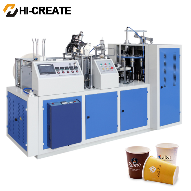 Custom size paper cup equipment best all one