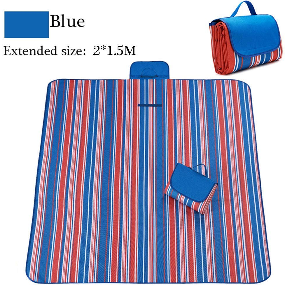 HDD Picnic Mat 600D Oxford Outdoor Mats Picnic Cloth Waterproof Moisture Spring Beach Mat Outdoor Camping Supplies 1.81.45M