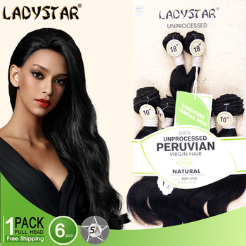 Clearance ladystar 6pcs unprocessed peruvian virgin human hair clearance ladystar 6pcs unprocessed peruvian virgin human hair extension pmusecretfo Gallery