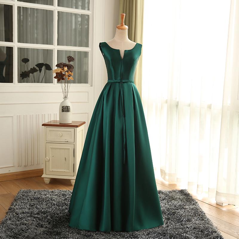 Wln039 Jancember Venta Caliente Esmeralda Verde Largo Barato Simple De Las Mujeres Vestidos De Baile Buy Nuevo Diseño De Moda Vestido Largo Para
