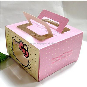 Newest Design Candy Mooncake Packaging Cake Paper Gift Box