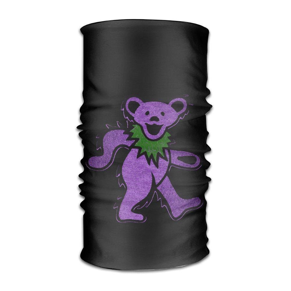 BestSeller Custom Grateful Dead Dancing Bear Headbands/Bandana/Face Mask/Yoga Headband/Bandana Headband/Head Scarf/Head Wrap For Unisex