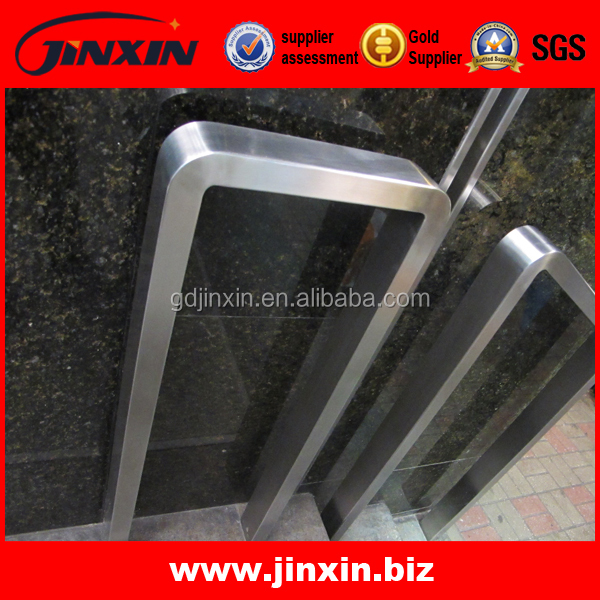 Subway High Quality Square Handrail/Flat Safety Handrail