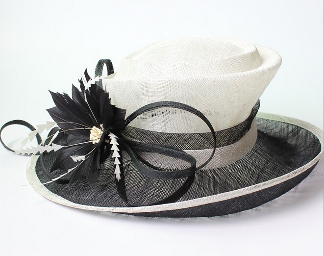 wholesale kentucky derby hats for women fashion white church hats