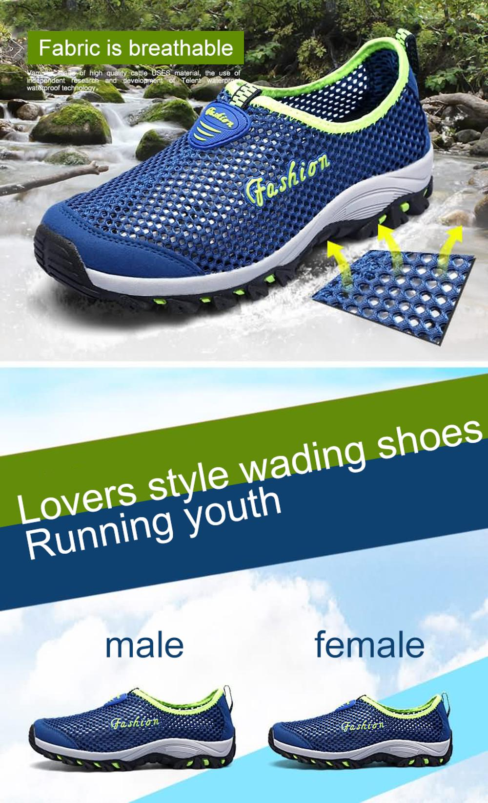 non running hiking summer men's resistant travel slip breathable blue shoes wear outdoor SDIiLAN Royal 6q7xPXw