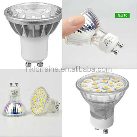 COB Epistar Led Spotlight 7W GU10 MR16 Material Glass 12V 220V 230V 240V Warm White Natural White Cool