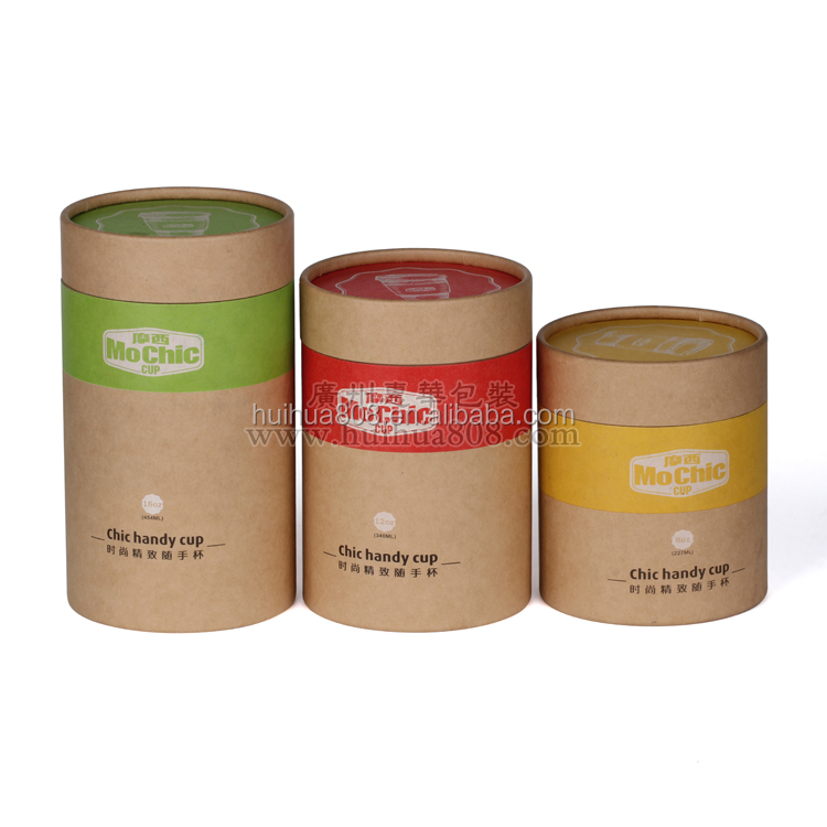 Huihua Packaging Composite Round Paper Tube Can