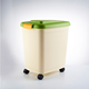 Factory Sale Household Plastic Dog Pet Cat Food Storage Bucket With Handle Or Wheel