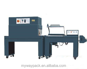 Semi auto control system L bar sealer and shrink wrapping machine