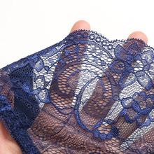 Hot sale l women s sexy lace panties seamless cotton breathable panty Hollow briefs Plus Size