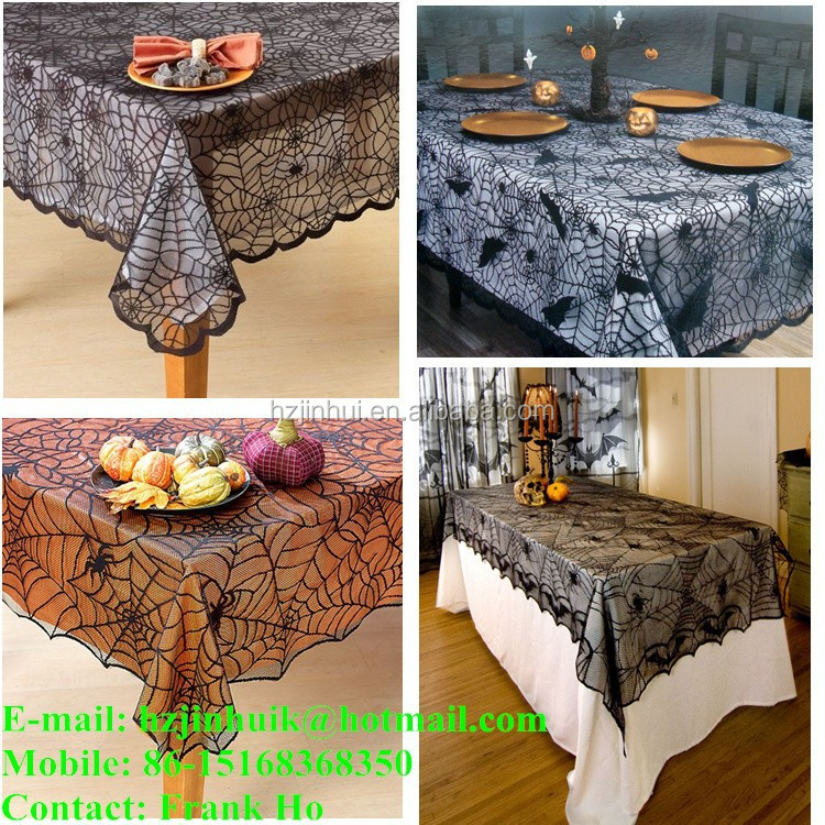 Black Lace Tablecloths, Black Lace Tablecloths Suppliers And Manufacturers  At Alibaba.com