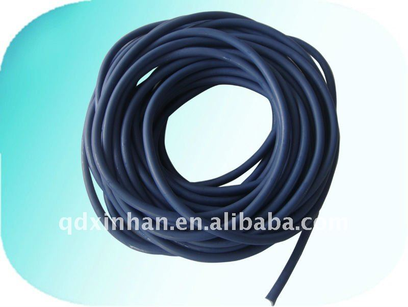 Dipped and Extruded colored latex surgical tubing