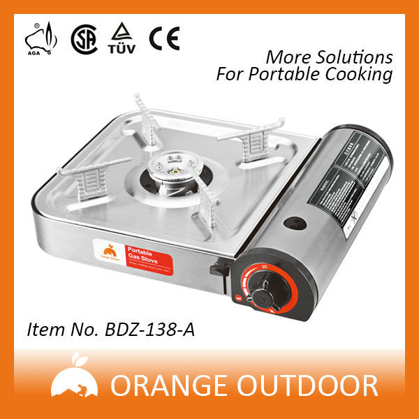 selected material long performance life gas range