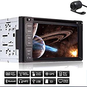 EinCar Capacitive GPS Navigation Double Din Radio Receiver PC Car Stereo In Dash Autoradio Electronics Car Video Player Auto DVD CD VCD BT Audio RDS Audio 6.2Inch Aux iPod win 8 receiver 800mhz CPU
