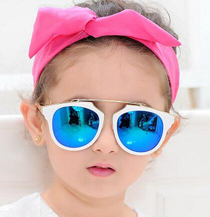 Wholesale top quality new fashion cool funny UV400 plastic children/child/baby/kids sunglasses eyeglasses eyewear