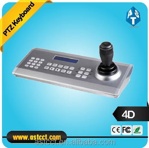 High Speed Dome Camera 4D PTZ Joystick Keyboard Controller