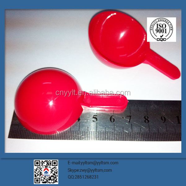professional manufacturing food standard,15ml disposable measuring FOB scoop ,embossed logo,good service spoon