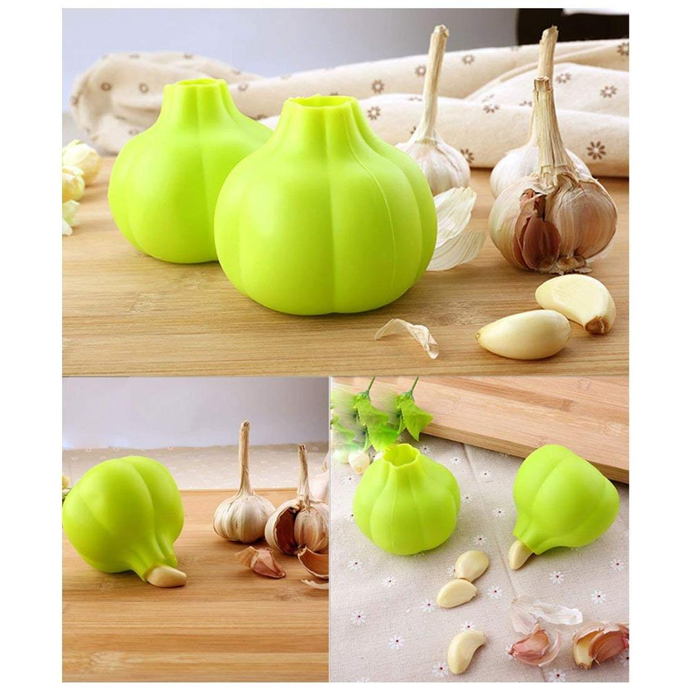food grade custom silicone garlic peeler garlic for home use