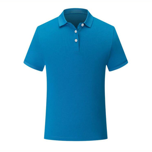 210gsm cotton polyester blend oem embroidery custom polo t shirt blank mens polo shirts