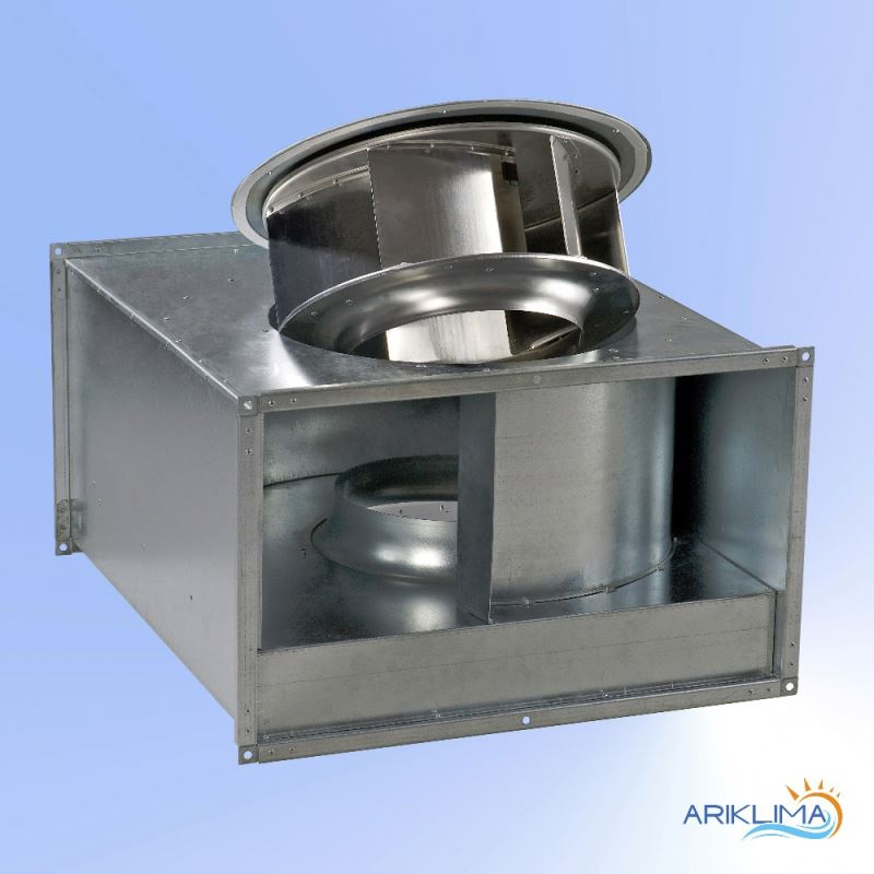 Industrial quality material micro centrifugal blower for polluted air extraction RECT-VP