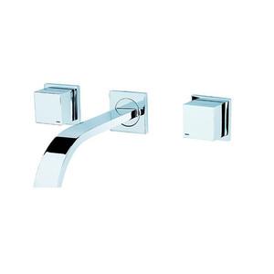 Wall Mount Bathroom Hand Wash Taps Basin Faucet