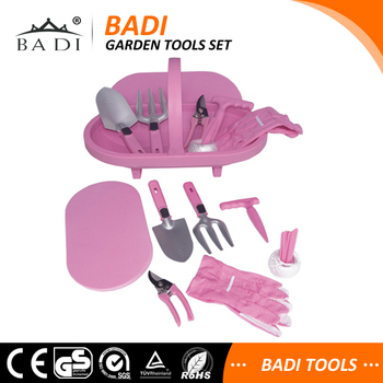 Perfect Lady Pink Garden Tool Set For Promotion/women Promotion Garden Gift Tool Set/  Lady