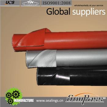 dc9a2ba2964e Personnel Protection Flame Corrosion Resistent Heat-isolating Siliconized  Fiberglass Fabrics