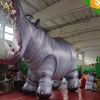factory price inflatable Hippopotamus ,realistic animal shape inflatable balloon for parade festival