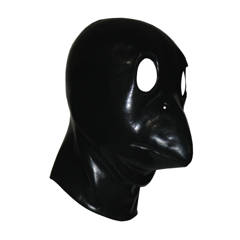 Latex mask tube