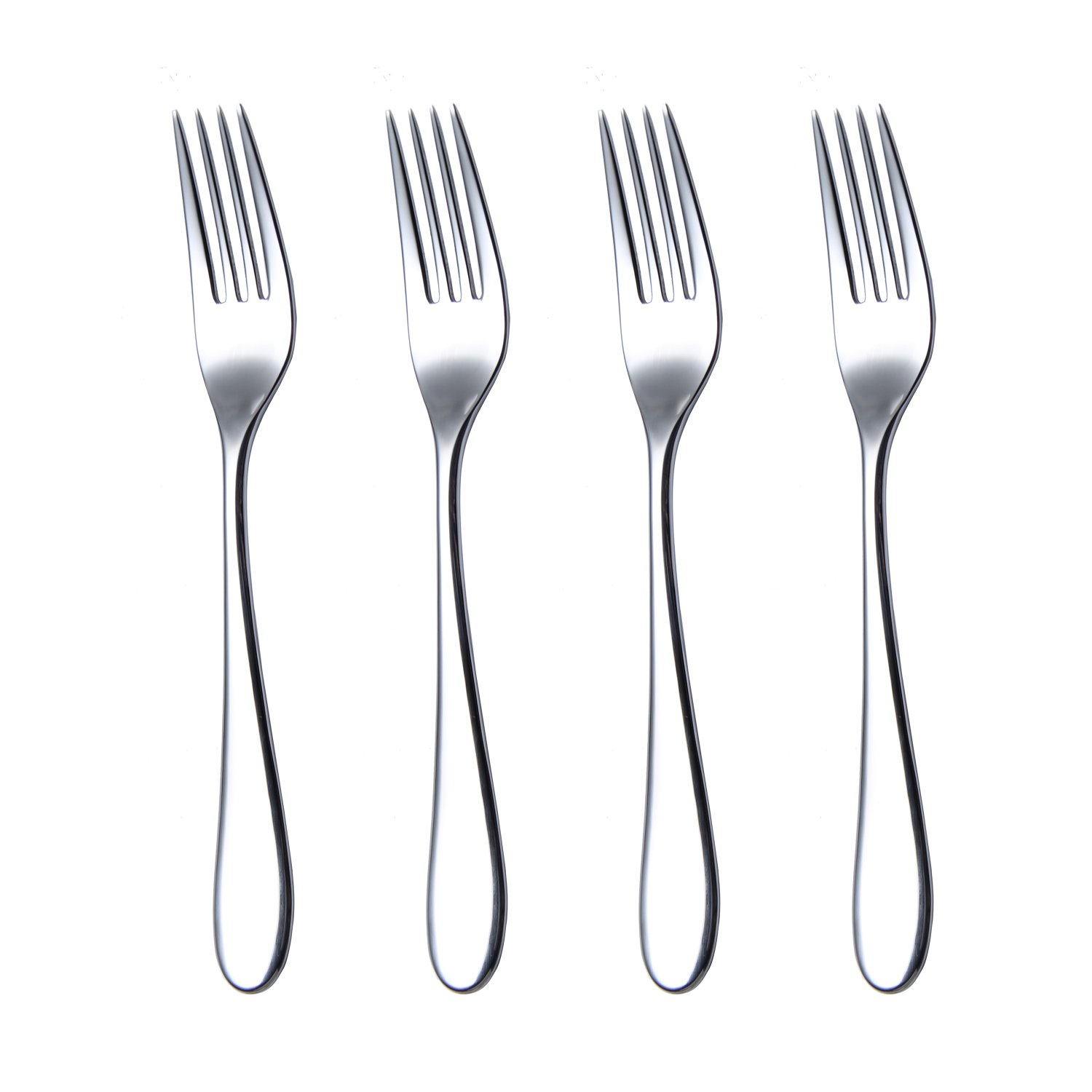 HISSF Dinner Forks, Marquette 18/10 Fine Stainless Steel Dinner Forks Set of 4, 8.26 Inches