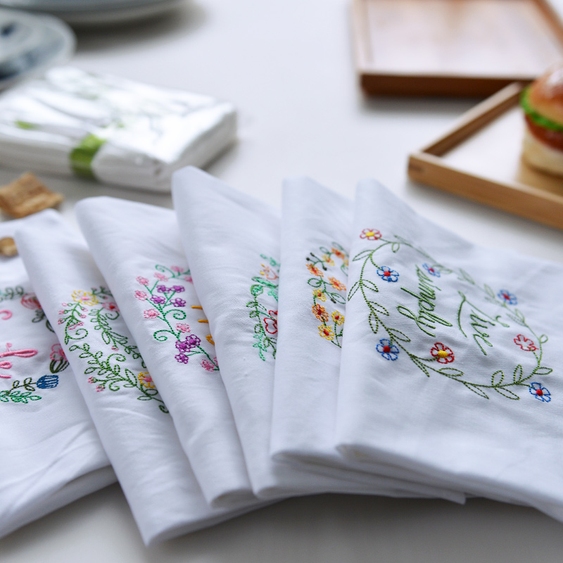 Online Buy Wholesale Tea Towels To Embroider From China