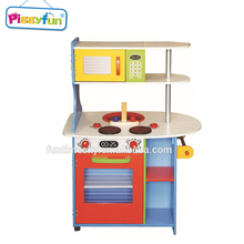 New Products Kids Wooden Toy Kitchen Play Set AT11867 Pretend Play Food Set
