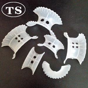 38mm 50mm PP Plastic polypropylene intalox saddles Ring tower packing