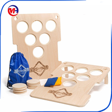 Placti Cornhole game/plastic bean bag toss game