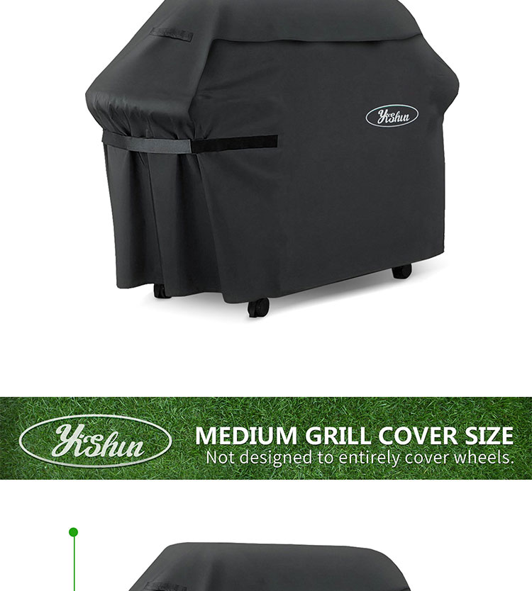 (58 Inch) BBQ Grill Cover, Zware Gas Grill Cover.