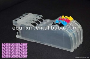 LC563 LC565 LC567 Refill Ink Cartridge forLC563 LC565 LC567for Brother MFC-J2510 MFC-J2310 ink cartridge