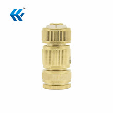 Brass Faucet Adapter Nipple Washing hold Garden Hose Quick Connects Coupling Fitting 34 NPT Thread Faucets