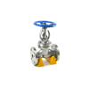 factory supplier cf8m din cast steel y type globe valve with lowest price