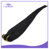 Brazilian Virgin Blond Clip Extensions Double Drawn Cuticle Hair Straight
