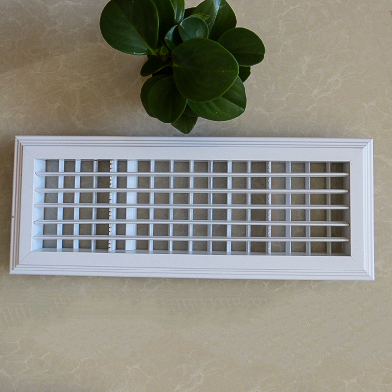 High Quality Rectangle Waterproof Outlet Aluminum Louver